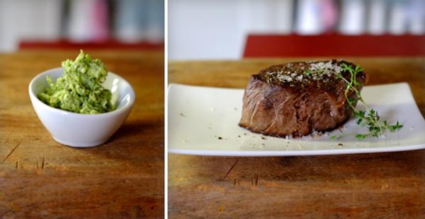 Collage Steak