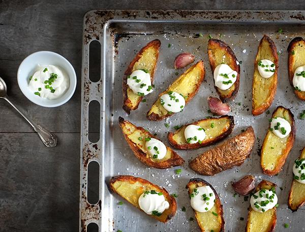 Potato Skins – super knusprige Kartoffelschalen-Chips ©anonymekoeche.net