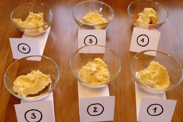 Cakezusatz und Ruehrteig