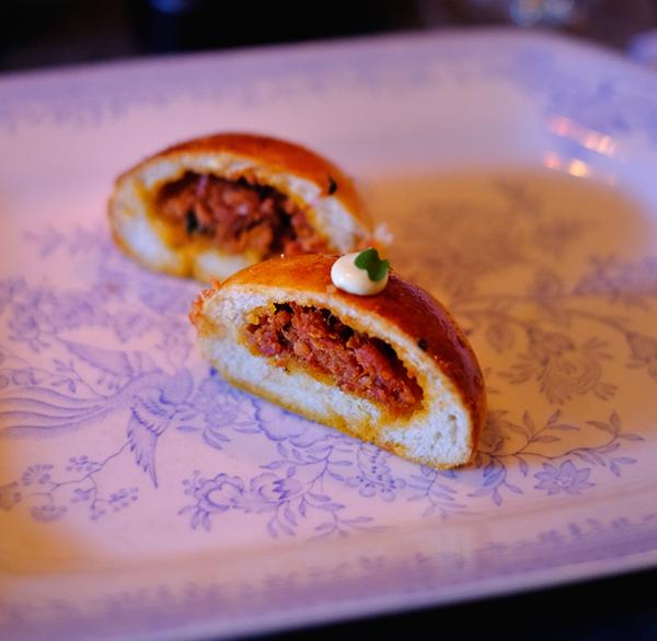 Chorizo Buns