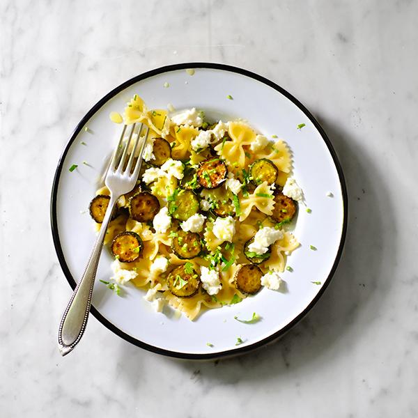 Farfallesalat Zucchini