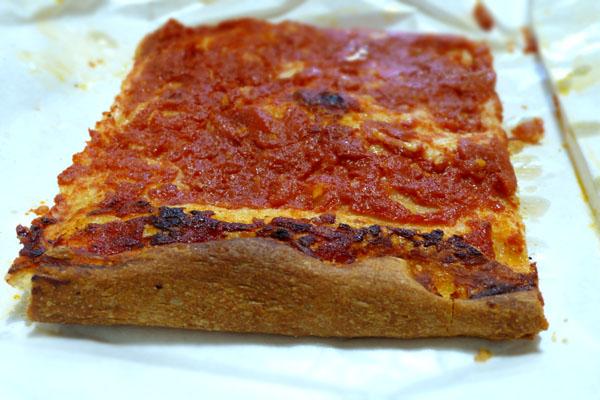 Pizza roscia