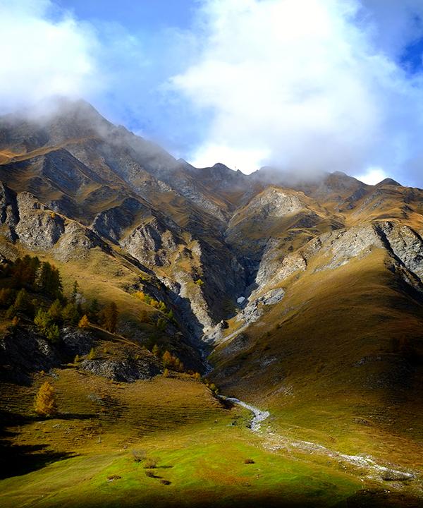 Samnaun Panorama