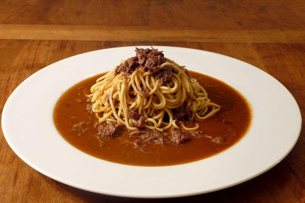 Spaghetti alla Coda di Bue