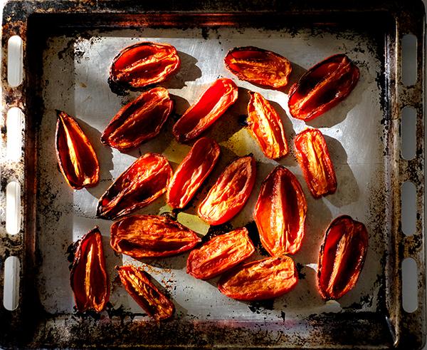 Tomaten gebacken